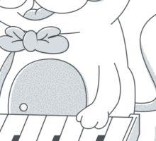 Keyboard Cat v2 Sticker