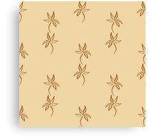 Natural abstract seamless pattern Canvas Print