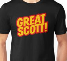 Back to the Future 'Great Scott!' quote Unisex T-Shirt