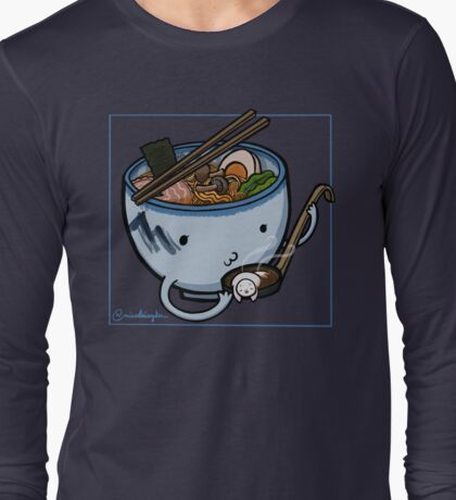 Ramen :: Carnivorous Foods Series Long Sleeve T-Shirt