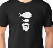 Big Fish Little Fish Cardboard Box - Music Unisex T-Shirt