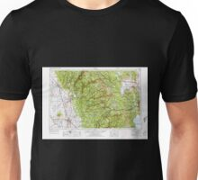 USGS TOPO Map California CA Chico 299747 1958 250000 geo Unisex T-Shirt