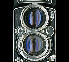1956 ROLLEIFLEX 2.8D TWIN LENS REFLEX IPHONE CASE by Brett Rogers