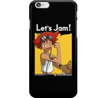 Jamming with Edward iPhone Case/Skin