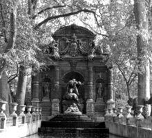 La Fontaine de Medicis Sticker