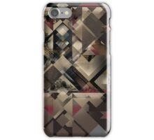 Geometric Nature Pattern iPhone Case/Skin