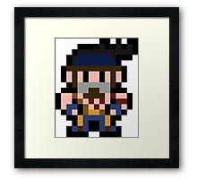 Pixel Jago Framed Print