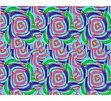 circular pattern design Photographic Print