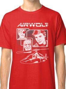 Airwolf tv series eighties Classic T-Shirt