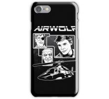 Airwolf tv series eighties iPhone Case/Skin