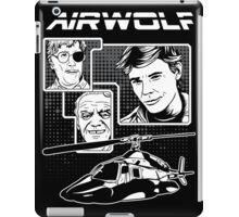 Airwolf tv series eighties iPad Case/Skin