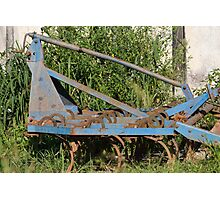 old plow Photographic Print