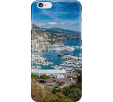 Monte Carlo Bay iPhone Case/Skin