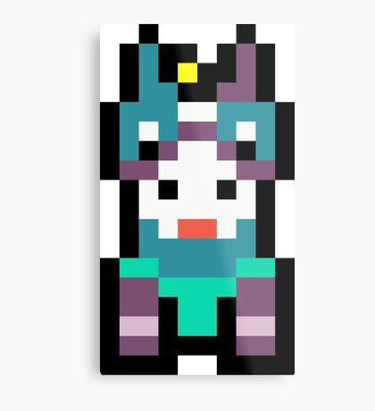 Pixel Horstachio Metal Print