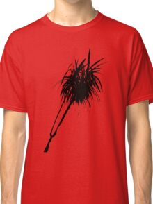 Elegant minimalist palm design in Chinese ink Classic T-Shirt