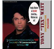 "The Tony 'Tex' Watt Jango Radio ""Plugged"" Album Promo Photographic Print"