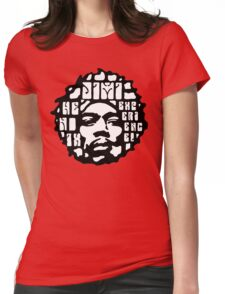 Hendrix Psychedelic  Womens Fitted T-Shirt