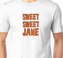 lou reed velvet underground sweet jane song lyrics rock n roll music cool t shirts Unisex T-Shirt