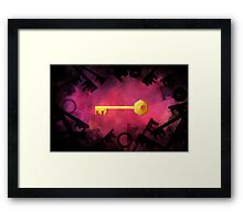 Key Framed Print