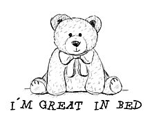 Great in Bed Photographic Print