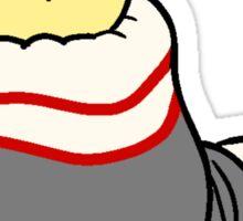 Sock Birdblob Sticker