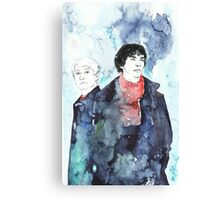 Sherlock - Cloudy Day Canvas Print