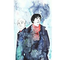 Sherlock - Cloudy Day Photographic Print