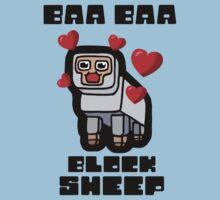 Baa Baa Block Sheep by crassstudio