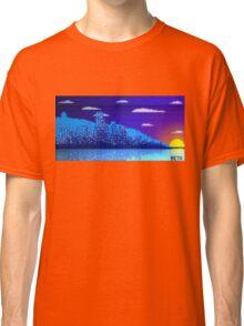 Pixel Skyline Classic T-Shirt