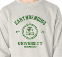 Earthbending University Earth Kingdom - Green Pullover