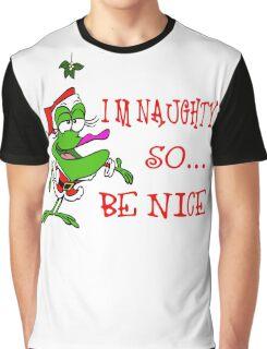Im Naughty So Be Nice Graphic T-Shirt