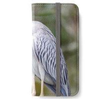 Yellow Crowned Night Heron iPhone Wallet/Case/Skin