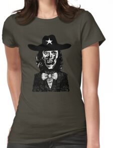 Halloween Zombie Spy Womens Fitted T-Shirt