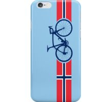 Bike Stripes Norway iPhone Case/Skin