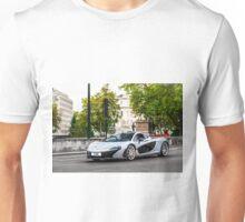 Silver McLaren P1 Unisex T-Shirt