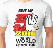 Marc Marquez give me five world champion 2016 #givemefive Unisex T-Shirt