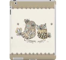 Brown Paper Birds iPad Case/Skin