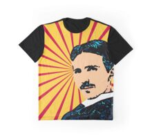 Tea Time with Tesla Graphic T-Shirt