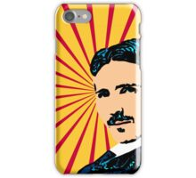 Tea Time with Tesla iPhone Case/Skin