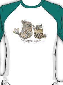 Brown Paper Birds T-Shirt