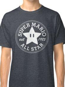 Super Mario Allstar (Converse) Classic T-Shirt