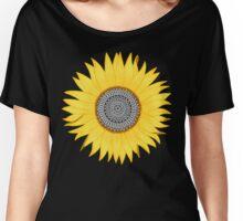 Mandala Sunflower Women's Relaxed Fit T-Shirt