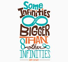 Some Infinities are Bigger Than Other Infinities T-Shirt
