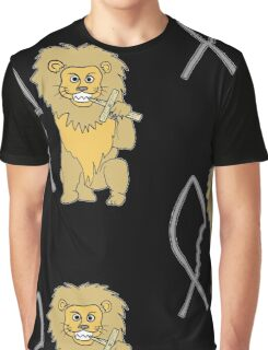 feed them to the lions Graphic T-Shirt