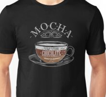 Mocha Coffee Unisex T-Shirt