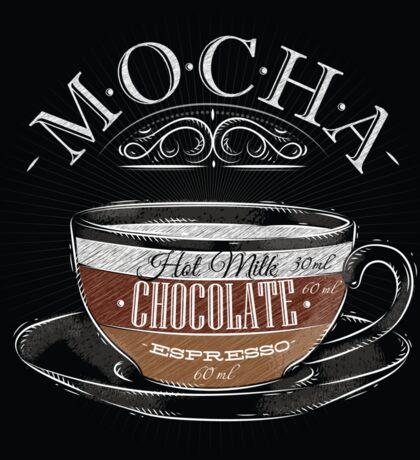 Mocha Coffee Sticker