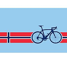 Bike Stripes Norway Photographic Print