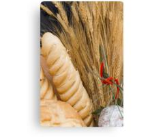 bread basket Canvas Print