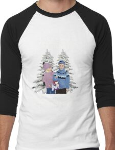 Last Christmas I Gave You My Heart - The Very Next Day You Said You Were Gay! Men's Baseball ¾ T-Shirt