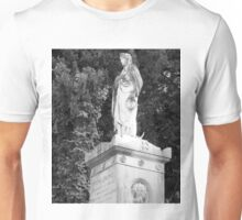 female statue Unisex T-Shirt